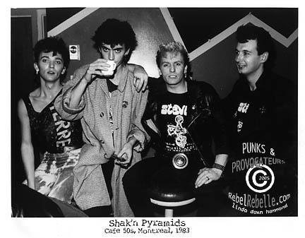 The SHAKIN' PYRAMIDS